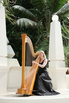 Sheila Watts Harpist for funerals and weddings London Home Counties