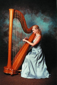 Harpist Sheila Watts London and South East