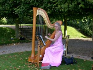 Sheila Watts harpist for weddings London and South East