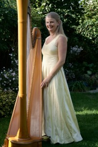 Sheila Watts harpist London and South East